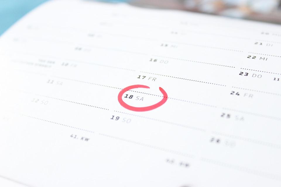 Dates de réponse des établissements 2020